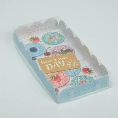 Коробочка для печенья Have a nice day, 21 × 10,5 × 3 см