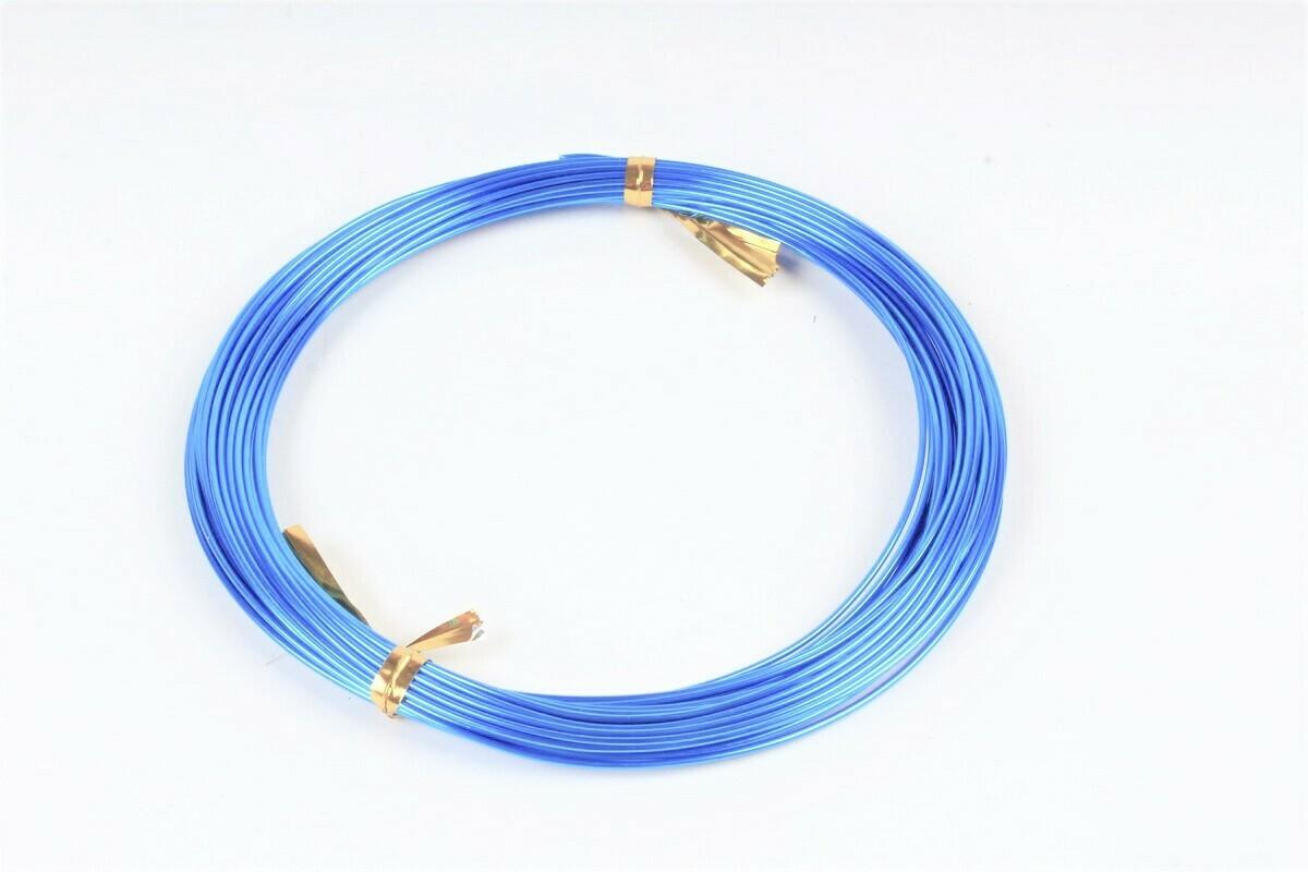 Проволока голубая декоративная 1ммх10м.