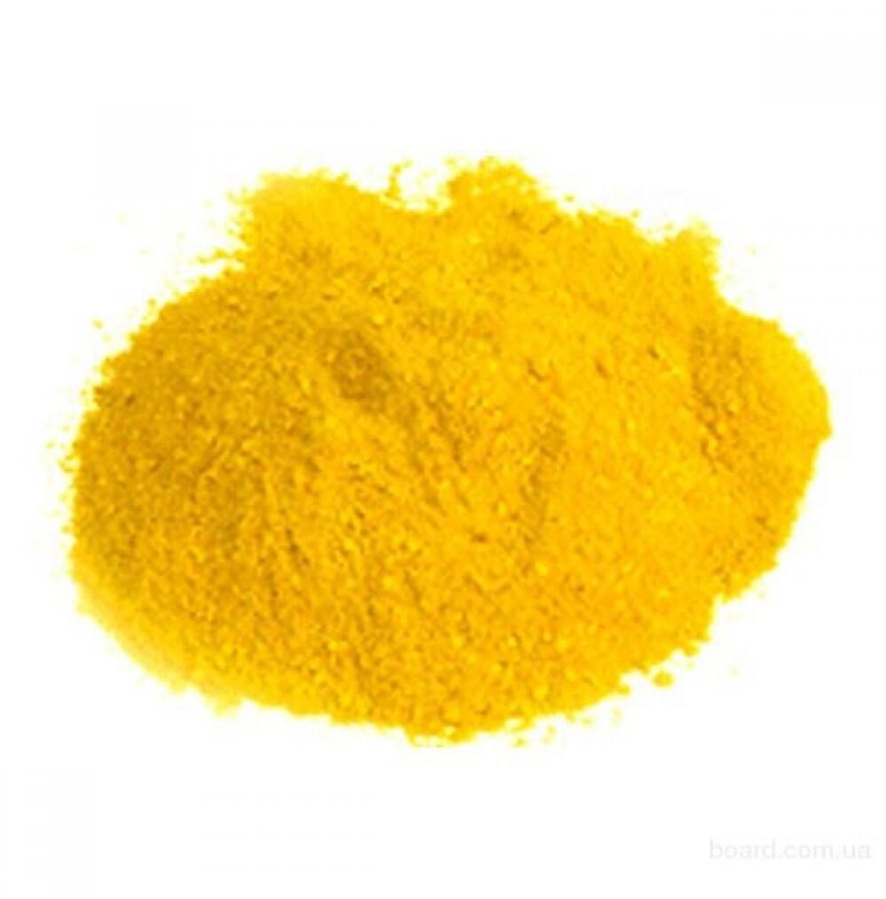 Краситель сухой Жирорастворимый Желтый Тартразин 10 гр.