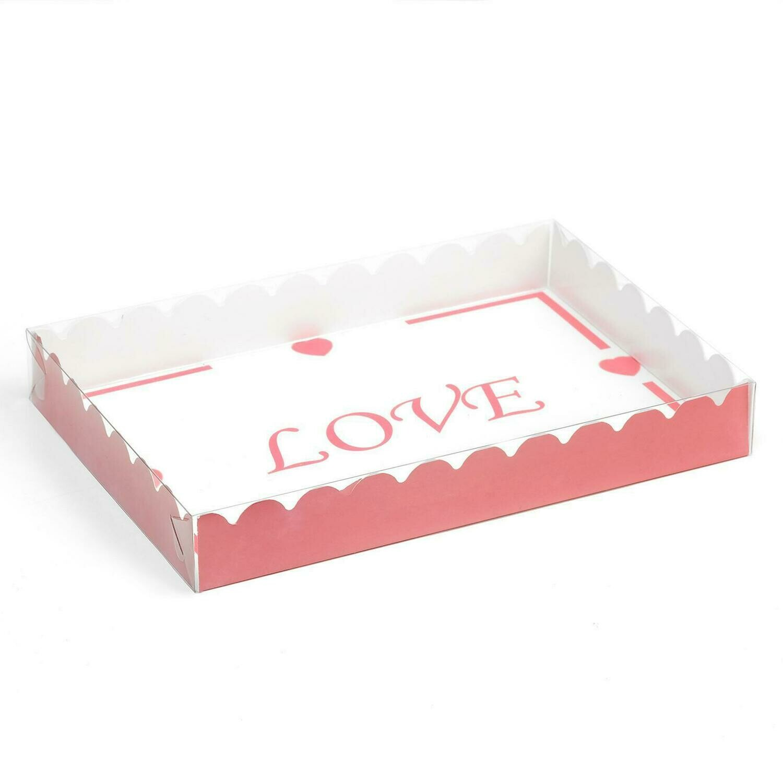 "Коробочка для печенья  ""LOVE"", 22 х 15 х 3 см"