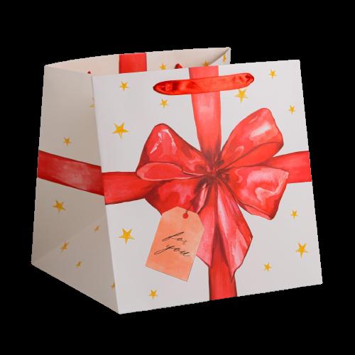 Квадратный пакет For you, 30 × 30 × 30 см 1 шт.