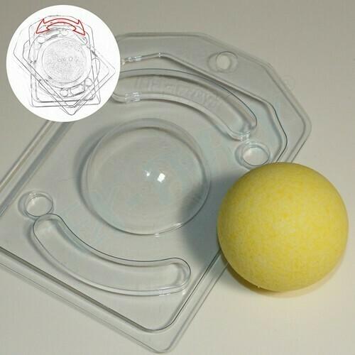 Пластиковая форма для шоколада Полусфера D 55 мм