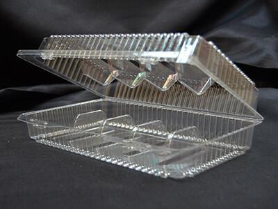 Контейнер пластиковый на 5 ячеек 250x158x63