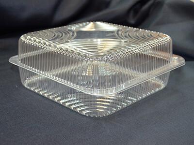 Контейнер пластиковый 18 × 18 × 8 см