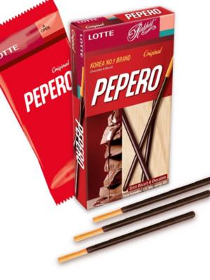 Соломка в шоколадной глазури  Pepero Original, 47г