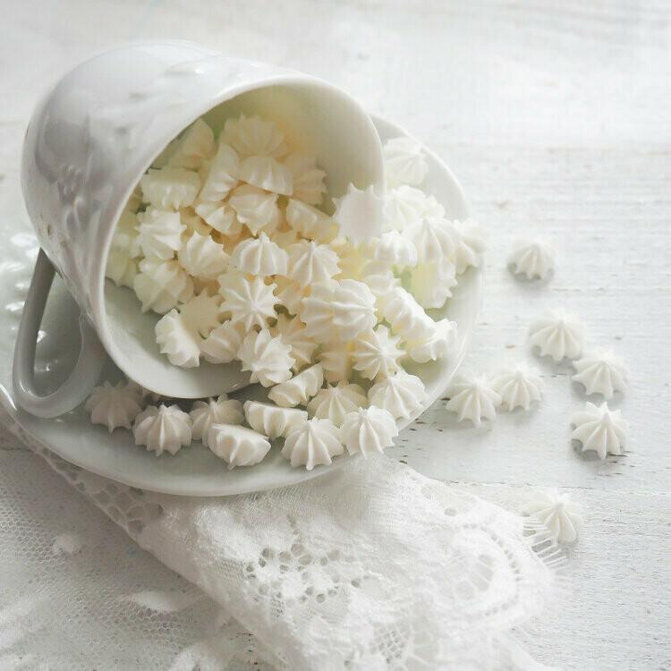 Сахарные фигурки Мини-безе белые 40 гр.