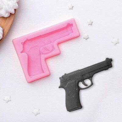 "Молд 11х7,5х1 см ""Пистолет"" для шоколада и мастики"