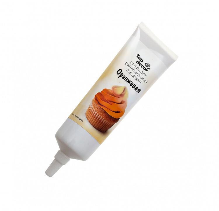 Краситель пищевой оранжевый  Топ-продукт 100 гр