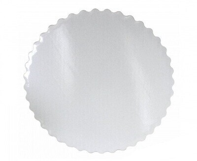 Подложка белая ажурный край усиленная  30 см