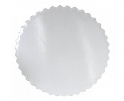 Подложка белая ажурный край усиленная  38 см