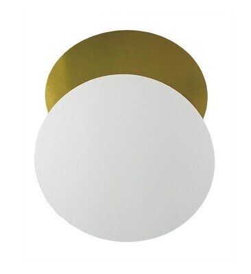 Подложка толщина 1,5 мм.  золото/белый Диаметр 22
