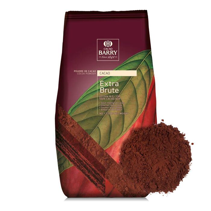 Алкализованный какао-порошок  Barry Callebaut Extra Brute 200 гр