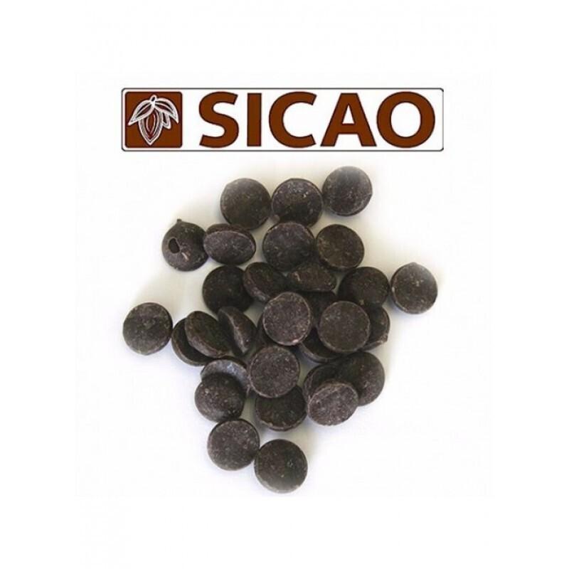 Шоколад горький Sicao от Barry Callebaut,  200 гр.