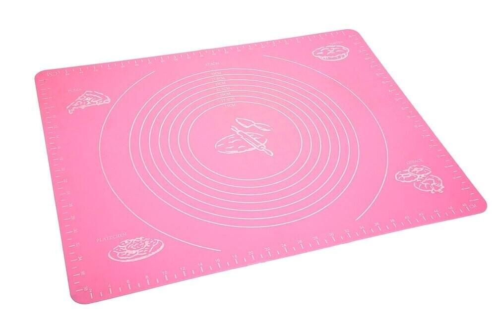 Силиконовый коврик для раскатки и выпечки 50х68 см. усиленный