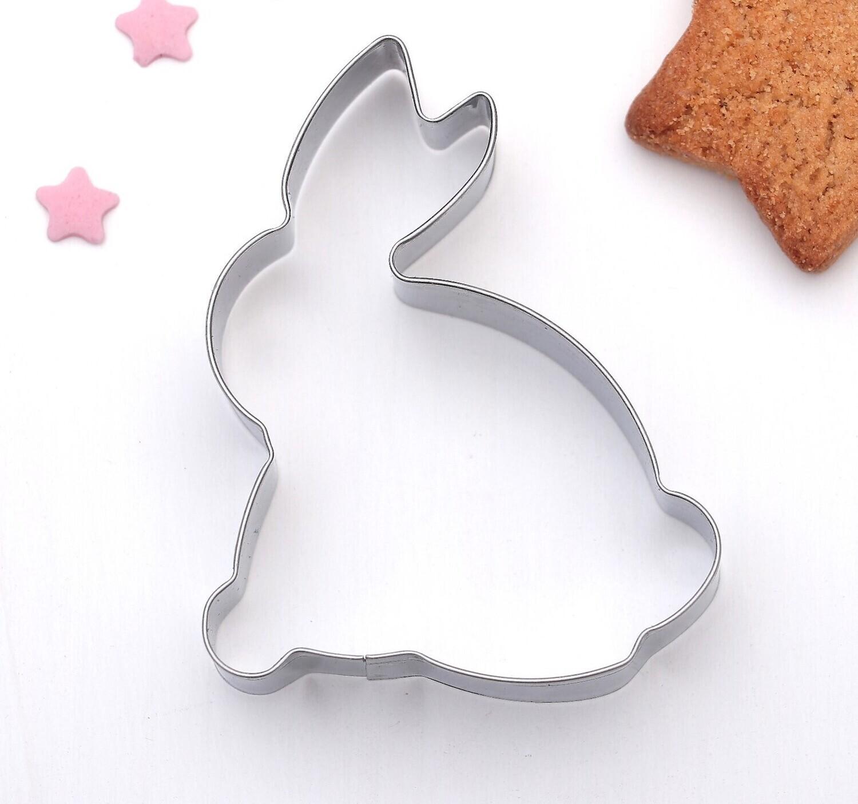 Форма для вырезания печенья «Зайка» металл, 7×5,5×2 см