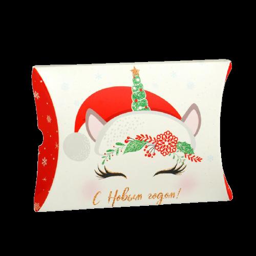 Коробка-конверт «Сказочного Нового года. Единорог», 11 × 8 × 2 см