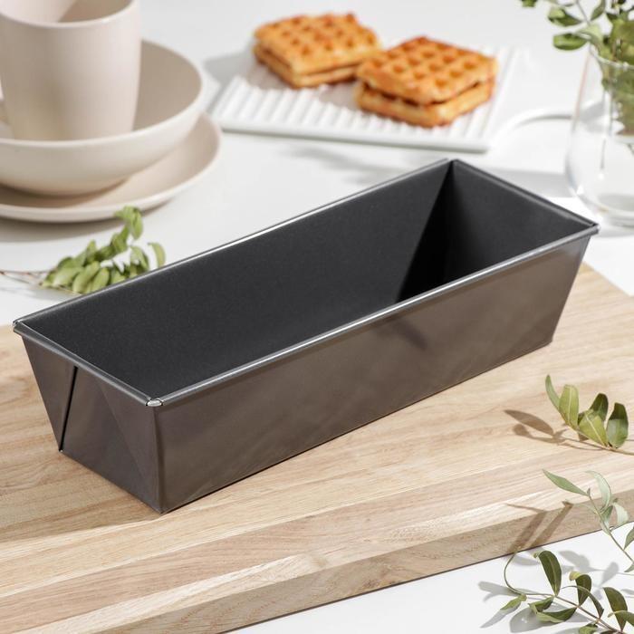 Форма для выпечки металл « Хлеб», 31×11,5×7,5 см, антипригарное покрытие