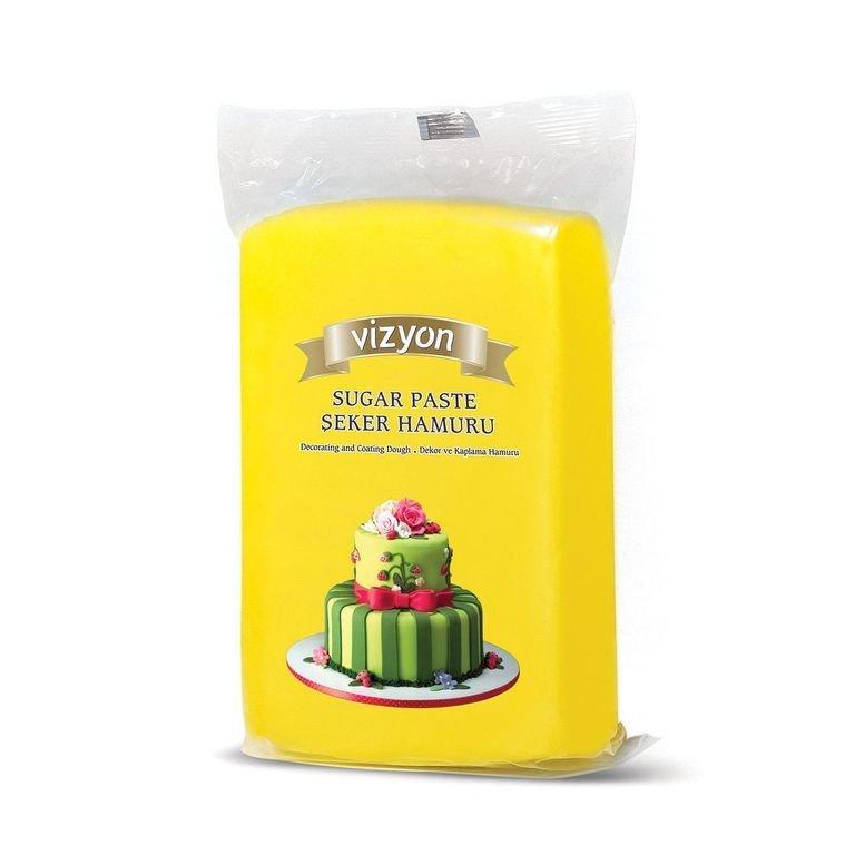 Vizyon  мастика 1 кг желтая