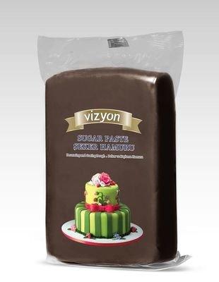 Vizyon  мастика 0.5 кг коричневая
