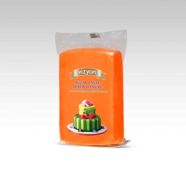 Vizyon  мастика 1 кг оранжевая
