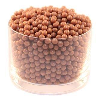 Драже шоколадное молочный шоколад кранч Crunchy Beads Milk IRCA  - 100 гр.