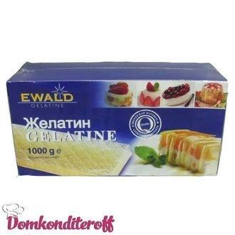 Желатин листовой EWALD 1кг.