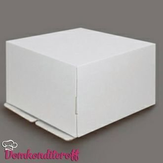 Коробка картонная усиленная гофрокартон 30*30*19 см