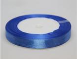 Лента атласная 12 мм синяя