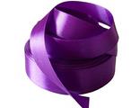 Лента атласная 25 мм. фиолетовая