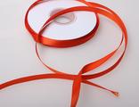 Лента атласная красная 7 мм.