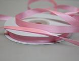 Лента атласная розовая 7 мм.