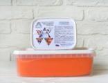 Мастика Сладкий шелк 1 кг. Оранжевая