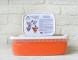 Мастика Сладкий шелк 250 гр. Оранжевая