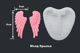 Молд силиконовый Крылья