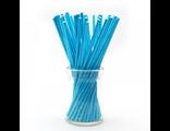 Палочки для кейк-попсов/меренги голубые - 50 шт. Длина 10 см.
