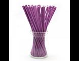 Палочки для кейк-попсов/меренги фиолетовые - 50 шт. Длина 15 см.