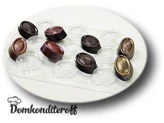 Пластиковая форма для шоколада Конфеты Маркиза