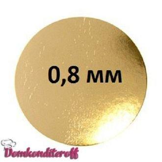 Подложка толщина 0,8 мм. Диаметр 10 см