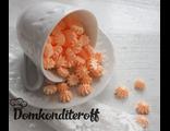Сахарные фигурки Мини-безе персиковые 40 гр.