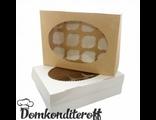 Упаковка для 12 капкейков двусторонняя Pasticciere 33х25х10 см