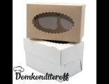 Упаковка для 2 капкейков двусторонняя Pasticciere 10х16х10 см