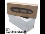 Упаковка для 3 капкейков двусторонняя Pasticciere 25х10х10 см