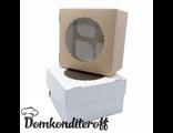 Упаковка для 4 капкейков двусторонняя Pasticciere 16х16х10 см