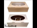 Упаковка для 6 капкейков двусторонняя Pasticciere 25х17х10 см