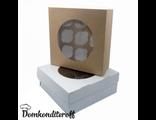 Упаковка для 9 капкейков двусторонняя Pasticciere 25х25х10