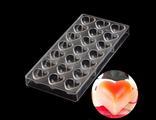 Форма для конфет поликарбонат сердечки