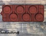 Форма для леденцов и шоколада Морозко (диам 4см)