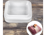Форма  для муссовых десертов Квадро 15,5х5 см