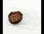 Форма для шоколада Хрюшка анфас