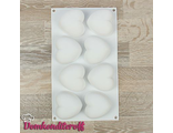 Форма силиконовая для муссовых пирожных Сердечки